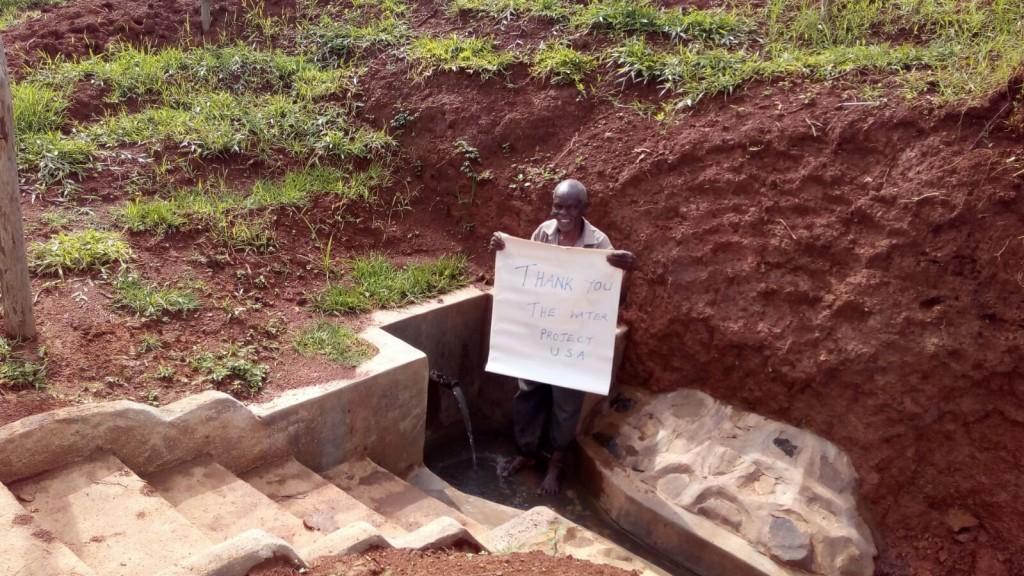 Photo of Robert Abu Spring Protection and Sanitation Project