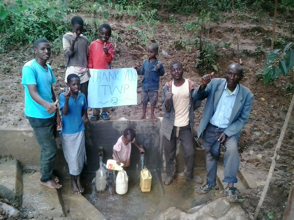 Spring Protection Project in Kenya
