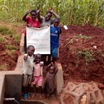 The Water Project: Benson Andeso Spring Protection and Sanitation Project -