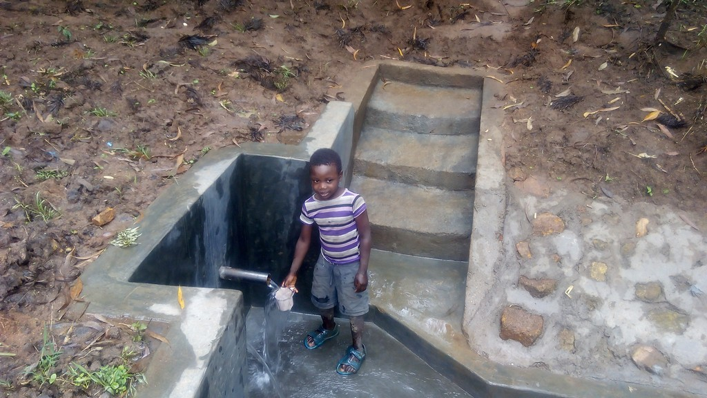 Photo of Emuyokha Spring Protection and Sanitation Project