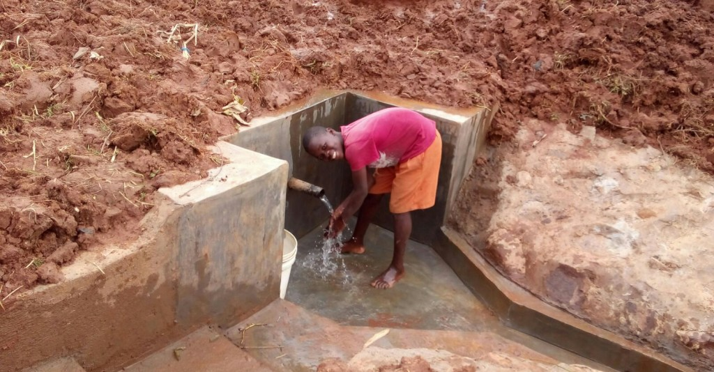 Photo of Melicsadeck Spring Protection and Sanitation Project
