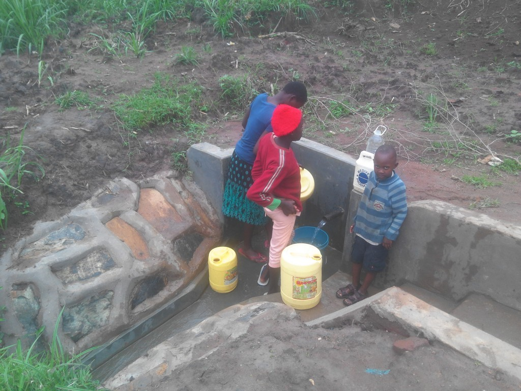 Photo of William Katui Spring Protection and Sanitation Project
