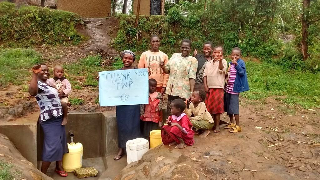 Photo of Munanga Spring Protection and Sanitation Project