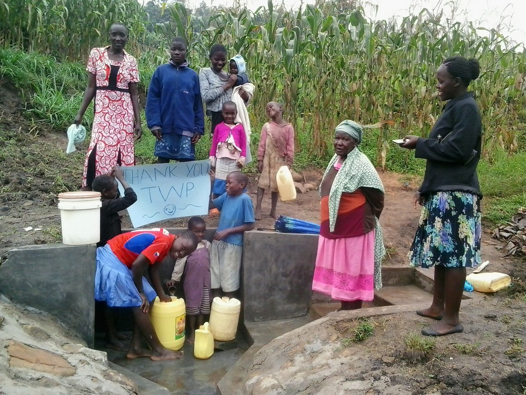 Photo of Eshitirira Spring Protection and Sanitation Project
