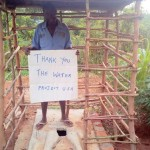 The Water Project: Mukwambo Spring Protection and Sanitation Project -