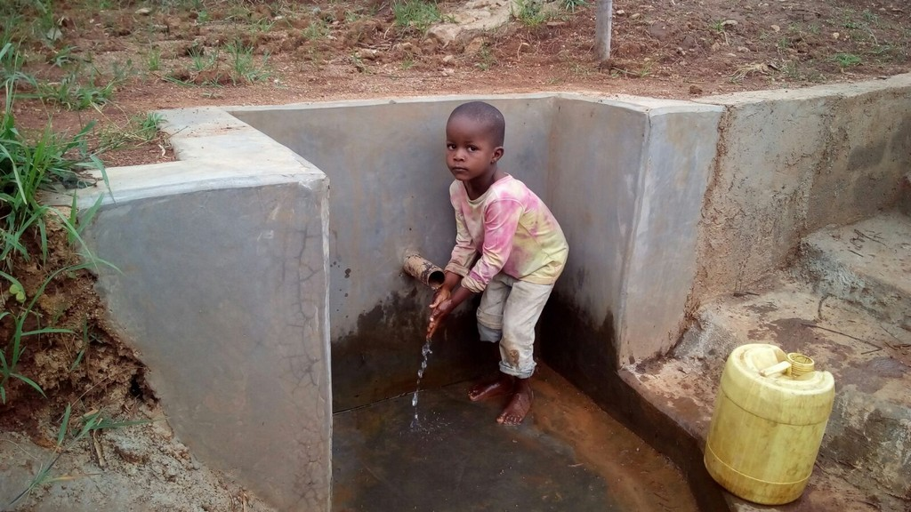 Photo of Mukwambo Spring Protection and Sanitation Project