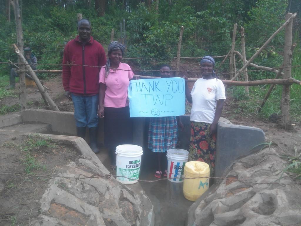Photo of Asatsa Spring Protection and Sanitation Project