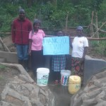 The Water Project: Asatsa Spring Protection and Sanitation Project -