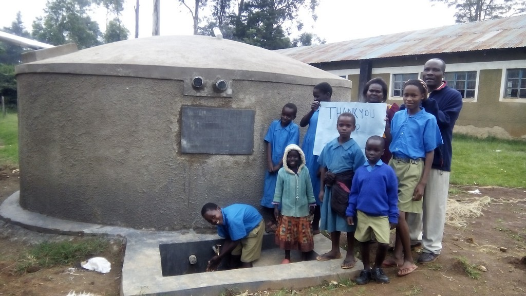 Photo of Muraka Primary School Water Tank and Latrine Project