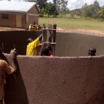 The Water Project: Esibakala Primary School Water Tank and Latrine Project -