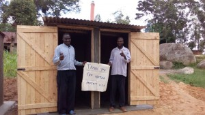 The Water Project : kenya4443-31-finished-latrines