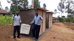 The Water Project : kenya4443-36-finished-latrines