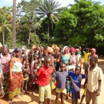 The Water Project: Kagbanthama Village New Well Project -