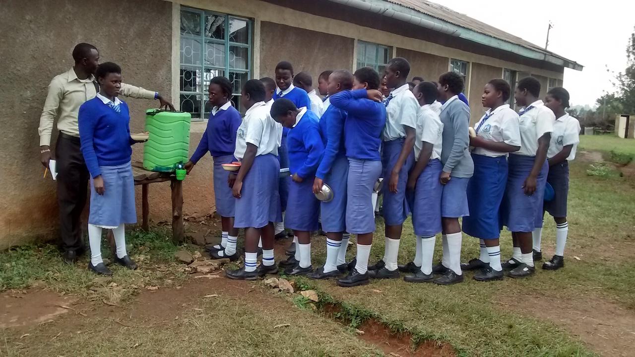 The Water Project Kenya Nabwani Secondary School
