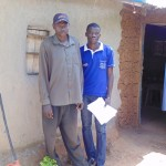 The Water Project: Kakoyi Well Rehabilitation Project -  Bernard