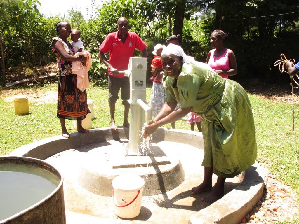 Photo of Shianda K Well Rehabilitation Project