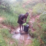 The Water Project : 2-kenya4561-unprotected-spring