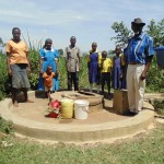 The Water Project : 3-kenya4511-rehab-well