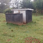 The Water Project : 3-kenya4598-latrines