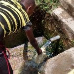 The Water Project: Kwambiha Well Rehabilitation Project -