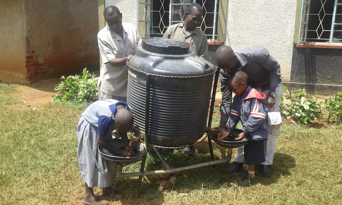 The Water Project : 4-kenya4597-hand-washing-station