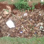 The Water Project : 4-kenya4601-compost-pit