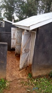 The Water Project : 5-kenya4598-latrines