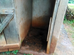 The Water Project : 5-kenya4599-latrines