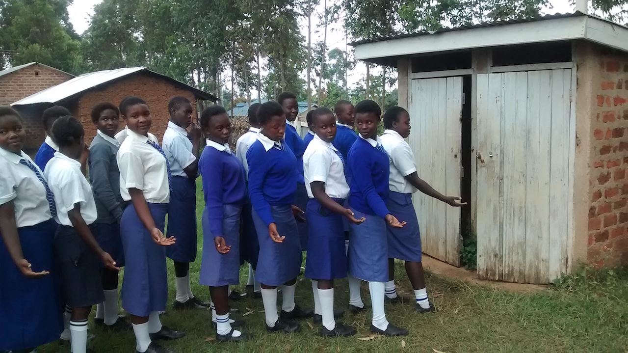 The Water Project : 5-kenya4601-latrines