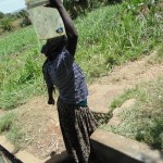 The Water Project: Kakoyi Well Rehabilitation Project -  Current Source