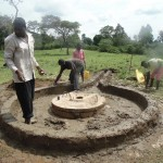 The Water Project: Kimanget Well Rehabilitation Project -  Construction