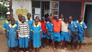 The Water Project : 9-kenya4595-students