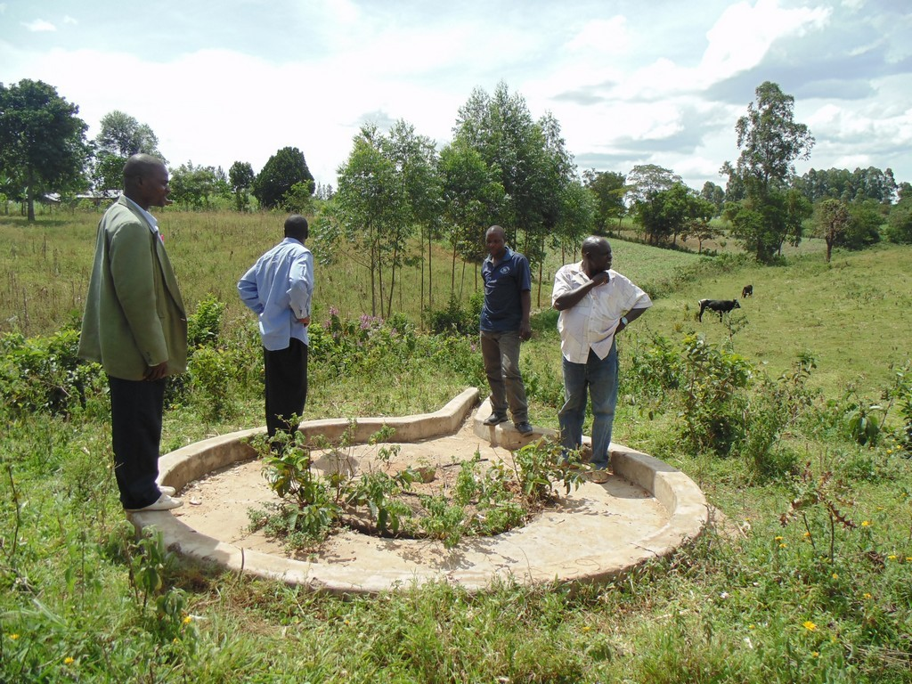 The Water Project : kwambiha-community-well-rehab-2