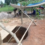 The Water Project: Ayuda Wang Jamadi Shallow Well Project -