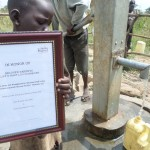 The Water Project: Jeeja I Bahati Hand Dug Well -