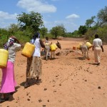 The Water Project : 1-kenya4479-fetching-water
