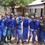 The Water Project : 1-kenya4500-students