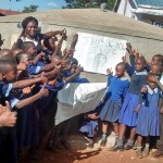 The Water Project: Mukuli Primary School Rainwater Catchment Project -