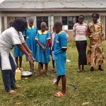The Water Project: Kimingini Primary School Rainwater Catchment Project -