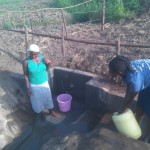 The Water Project: Robert Chemase Spring Protection Project -