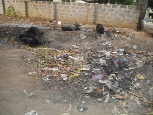 The Water Project : 17-sierraleone5096-trash-dump