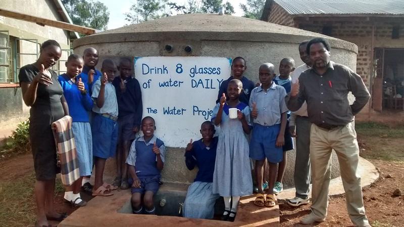 Photo of Shivakala Primary School Rainwater Catchment Project