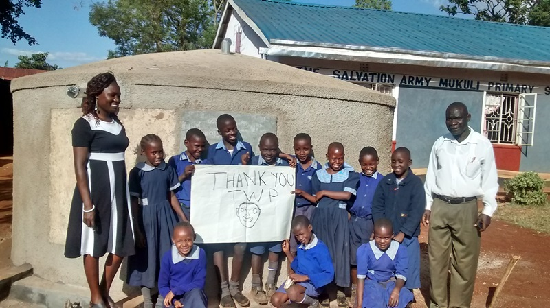 Photo of Mukuli Primary School Rainwater Catchment Project