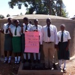 The Water Project: Ebwiranyi Secondary School Rainwater Catchment Project -