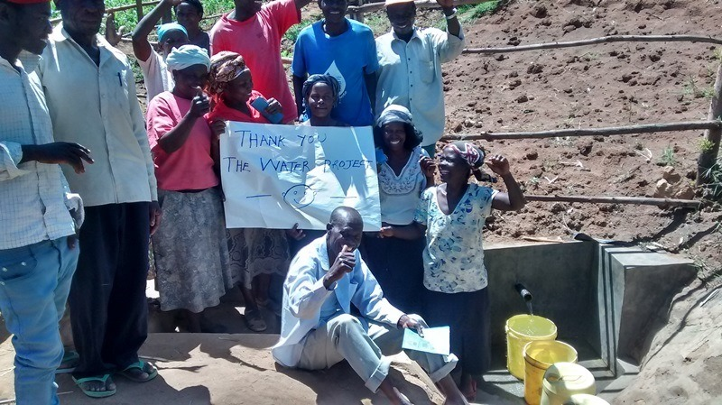 The Water Project : 24-kenya4563-completed-project