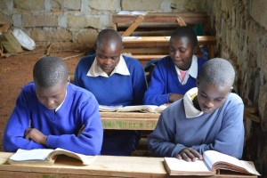 The Water Project : 4-kenya4500-students