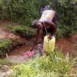 The Water Project : 4-kenya4561-unprotected-spring