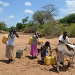The Water Project : 5-kenya4479-fetching-water