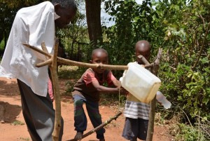 The Water Project : 6-kenya4474-justus-household