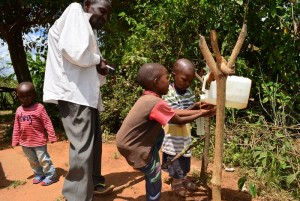 The Water Project : 8-kenya4474-justus-household
